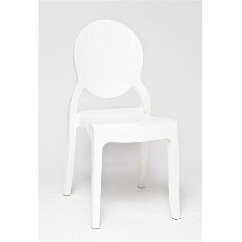 Krzesło mia white glossy - biały marki D2.