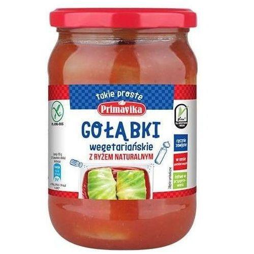 Gołąbki wegetariańskie z ryżem naturalnym bez glutenu 550g - Primavika, 5900672302295