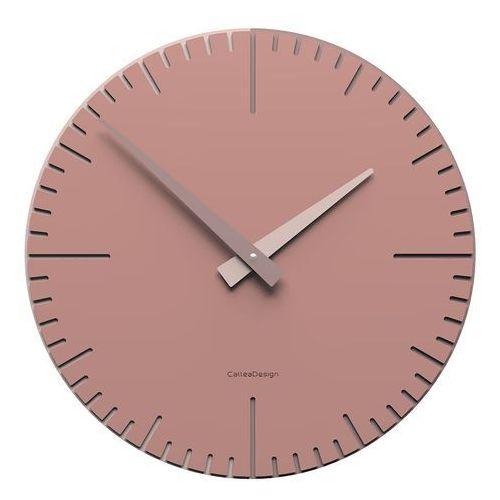 Calleadesign Zegar ścienny okrągły 36 cm exacto pochmurny róż (10-025-33)