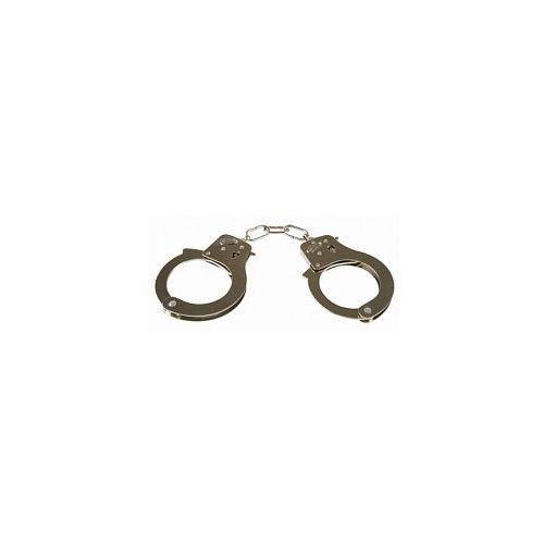 Kinx Metalowe kajdanki do krępowania rąk handcuffs 096143