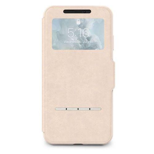 Moshi SenseCover Etui Z Klapką Dotykową iPhone Xs Max (Savanna Beige), 10_11955