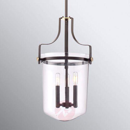 Lampa wisząca penn station qz/pennstat/m wt - lighting - rabat w koszyku marki Elstead