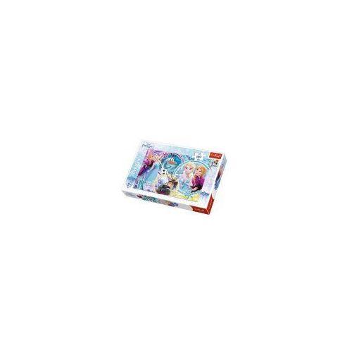 Puzzle 100 elementów - kraina lodu, kraina przyjaźni - poznań, hiperszybka wysyłka od 5,99zł! marki Trefl