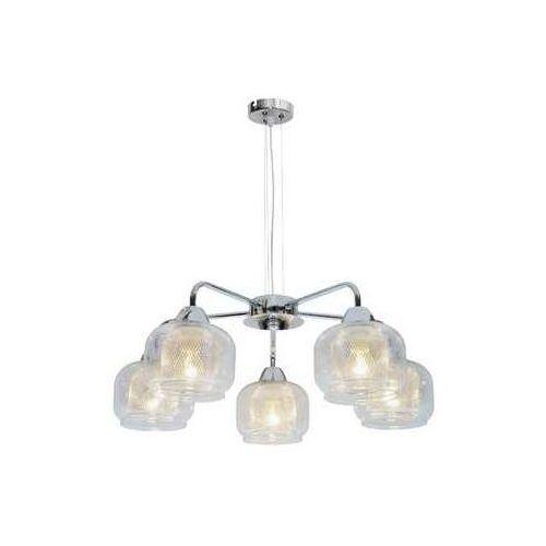 Candellux Lampa wisząca zwis ray 5x40w e14 chrom 35-67098 (5906714867098)