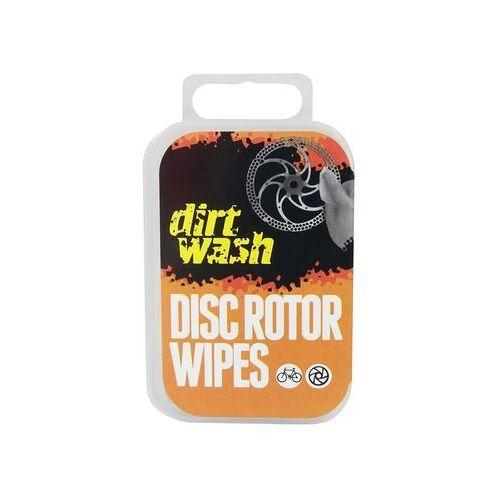 Chusteczki do czyszczenia tarcz hamulcowych dirtwash disc rotor wipes 6 szt. marki Weldtite
