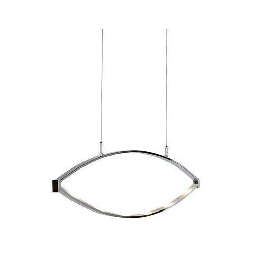 Designerska lampa wisząca chromowana z regulacją led - lois marki Honsel