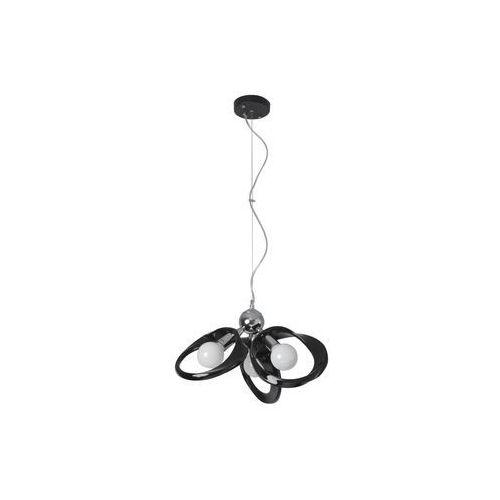 Żyrandol Emma 3 czarny Producent Lampex, LAMP 414/3Z CZA