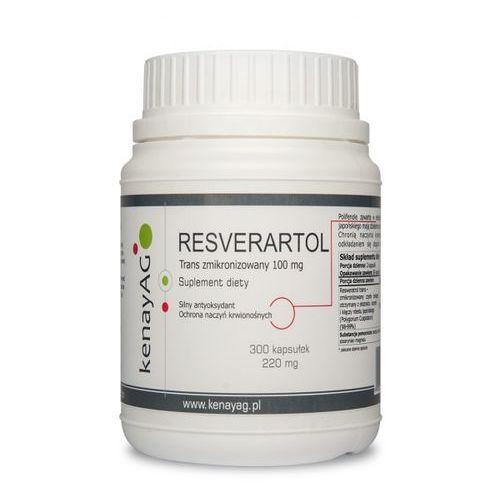 Resveratrol zmikronizowany 100mg – 300kaps – Kenay