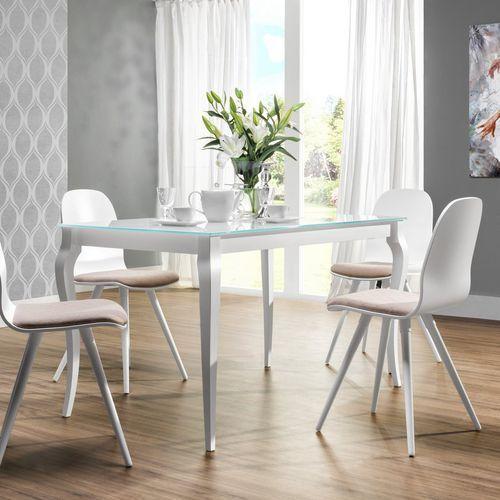 Meble nova Stół ze szklanym blatem bresso