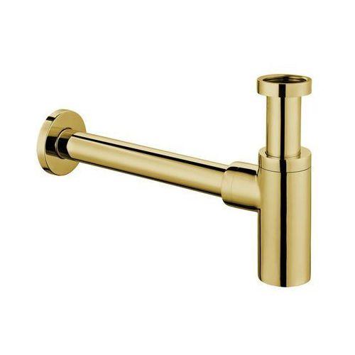 Omnires A186 ZL syfon umywalkowy złoto, A186ZL
