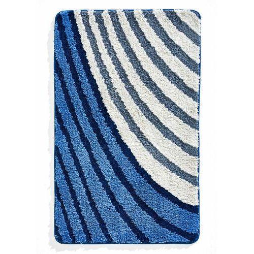 Bonprix Dywaniki łazienkowe w paski niebieski