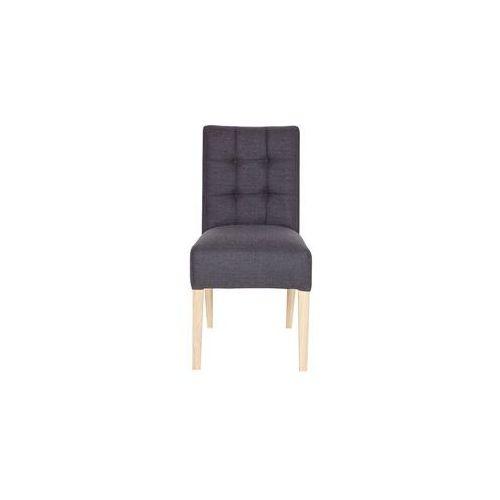 Woood krzesło stołowe tijmen antracytowe 340942-95