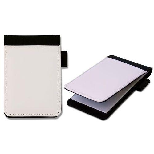 Notes czarny MEMO mały 11x9 cm z okładką do nadruku, NB-3844
