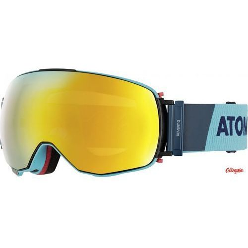 Atomic Gogle narciarskie revent q blue 2017/2018