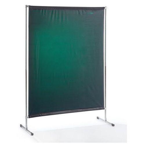 Ścianka ochronna dla spawacza BASIC, ruchoma,szer. x wys. 1400 x 2000 mm, z normą ISO
