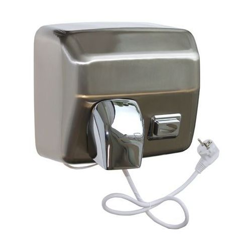 Merida Elektryczna suszarka do rąk starflow z przyciskiem - obudowa metalowa, stal matowa