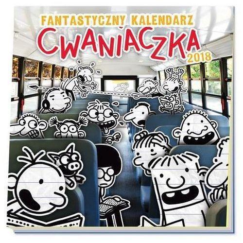 Jeff kinney Fantastyczny kalendarz cwaniaczka 2018 (9788310132635)
