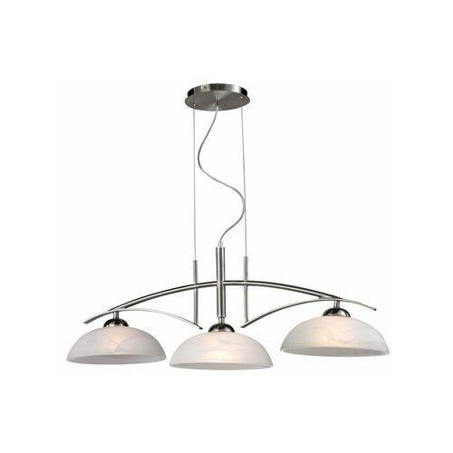 Lampa wisząca zwis Reality Venezia 3x60W E27 nikiel mat / biała 119103-07, 119103-07