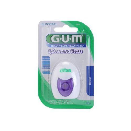 G.u.m  expanding floss nić dentystyczna + do każdego zamówienia upominek.