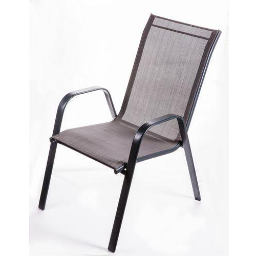 Makers krzesło ogrodowe genova ciemnoszary