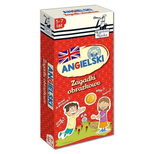 Kapitan nauka - zagadki obrazkowe - angielski 5-7 lat marki Edgard