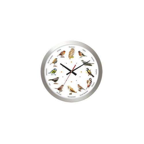 Zegar aluminiowy z głosami 12 ptaków #2 marki Atrix