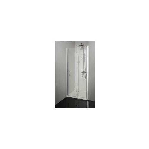 Sanotechnik Smartflex drzwi prysznicowe składane do wnęki prawe 90x195cm d1291fr (9002827129118)