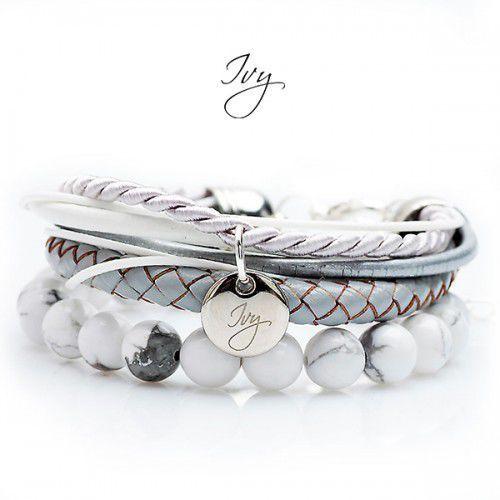 Bransoletka srebrna z naturalnymi kamieniami, kup u jednego z partnerów