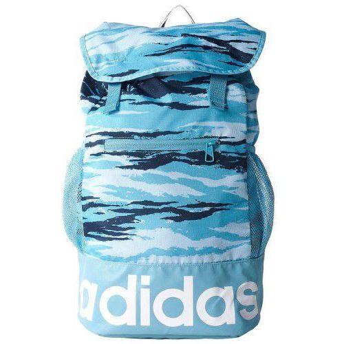 Adidas AY5065 Plecak niebiesko-błękitno-granatowy białe logo (75306) Darmowy odbiór w 21 miastach!, 75306