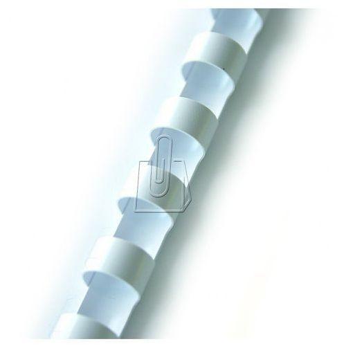 grzbiety plastikowe do bindowania 12,5mm biały 100szt. (beggp125whpx0100001) darmowy odbiór w 20 miastach! marki Idest