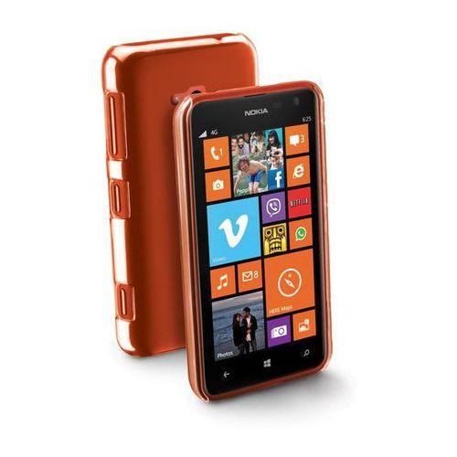 Pokrowiec CELLULAR LINE Invisible Nokia Lumia 625 Pomarańczowy (8018080197031)