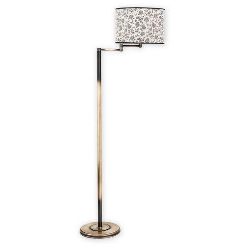 Lemir Sella lampa podłogowa 1-punktowa patyna o1819 l1 pat (5902082861898)