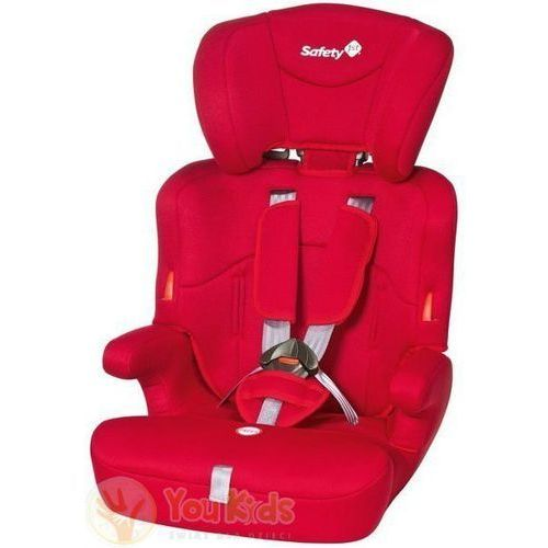 Od youkids ever safe 9-36kg fotelik samochodowy - full red marki Safety 1st