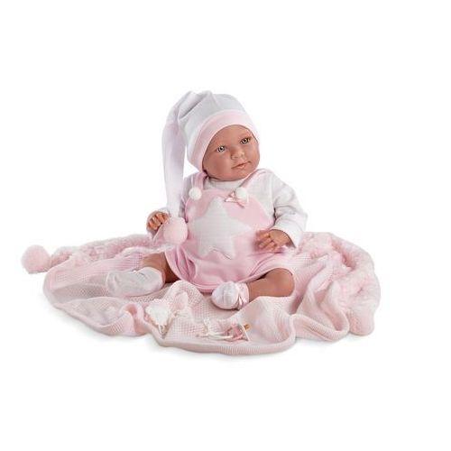 Llorens Śmiejąca się oliwia w różowej piżamie - darmowa dostawa!!! (8426265740246)