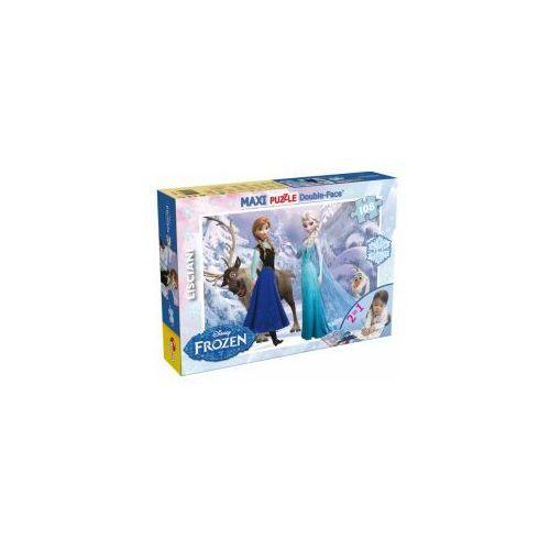 Kraina lodu puzzle 108 elementów 2 w 1 marki Liscianigiochi