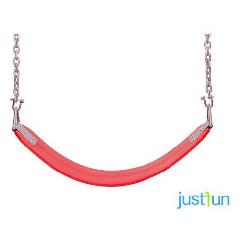 Just fun Huśtawka elastyczna na łańcuchu - czerwony