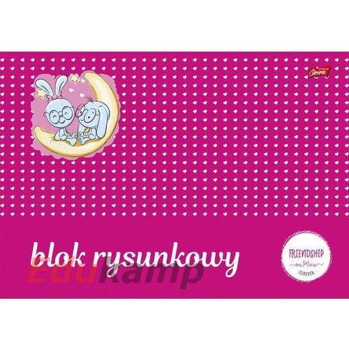 St. majewski Blok rysunkowy z białymi kartkami a4/20k (5904149016005)
