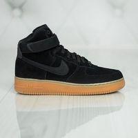 Nike Air Force 1 High '07 LV8 Suede AA1118-001, kolor czarny
