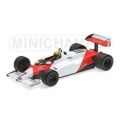 Minichamps Mclaren ford mp4/1c #7 ayrton senna test silverstone 10th november 1983
