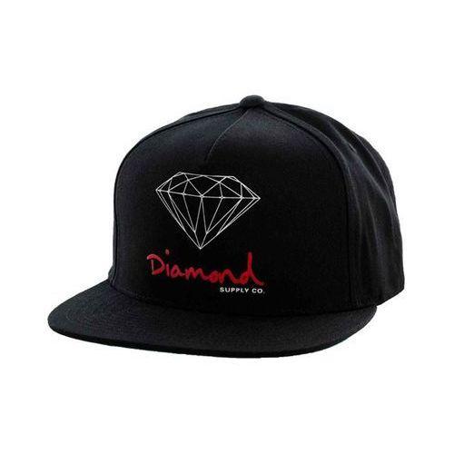 czapka z daszkiem DIAMOND - OG Logo Black (BLK) rozmiar: OS