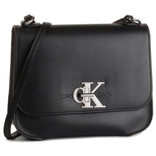 Calvin klein jeans Torebka - ckj monogram hw med flap k60k605786 bds
