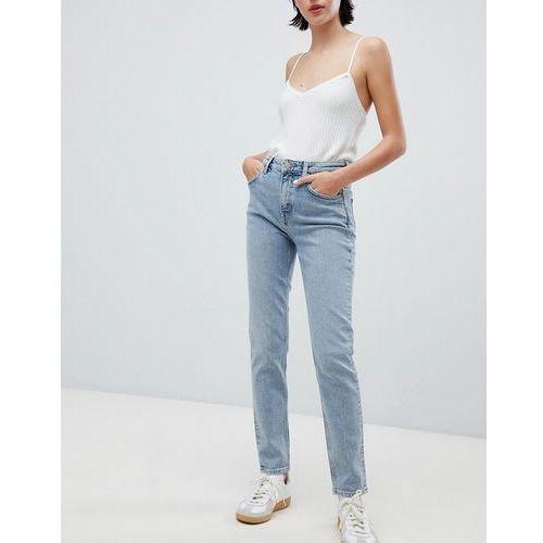 Weekday way high waist skinny jeans in blue - Blue, kolor niebieski