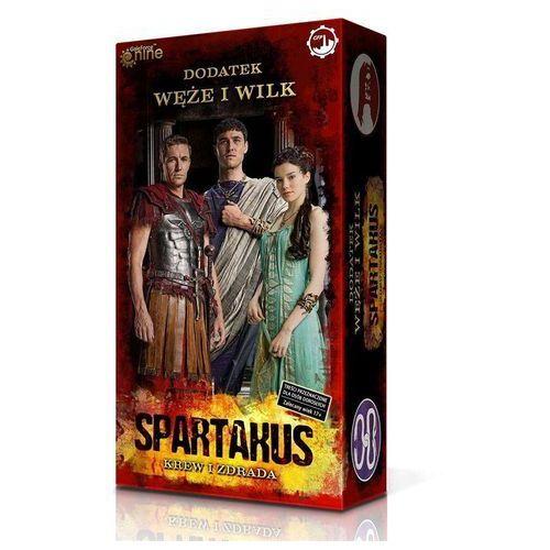 Games factory publishing Spartakus krew i zdrada węże i wilk -