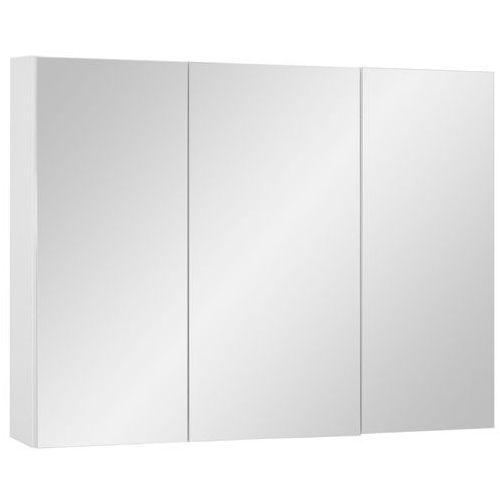 Astor szafka vento 80 cm lustrzana biała