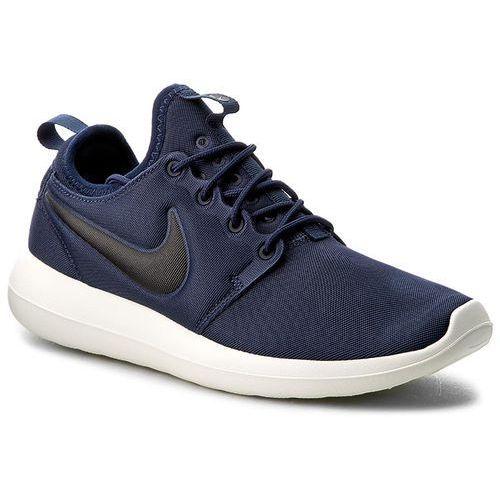 Buty - roshe two 844656 400 midnight navy/black/sail/volt marki Nike
