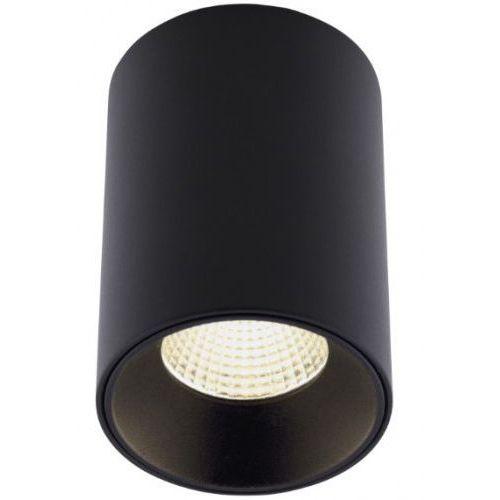 MAXlight Chip C0163 plafon tuba lampa sufitowa oprawa spot 1x8W LED czarny 4000K