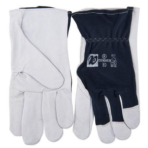 Rękawice z koziej skóry