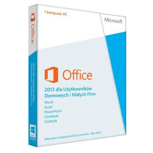Microsoft Office Home and Business 2013 PL ESD, kup u jednego z partnerów