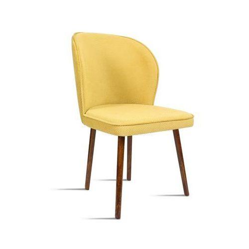 Krzesło RINO miodowy/ noga orzech/ LU2784