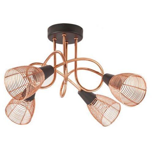 lampa sufitowa VERONICA IV miedziana, RABALUX 6036